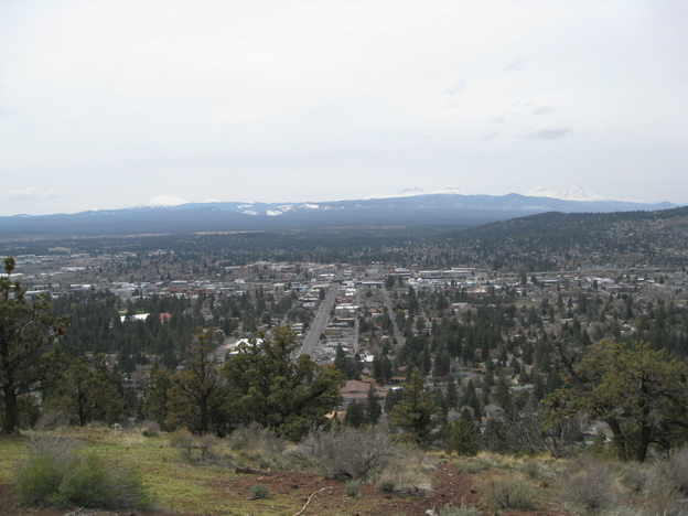 Overlooking Bend