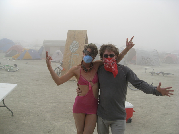 Lula and the dust storm