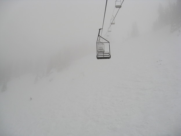 Lift up through the fog to Jupiter bowl