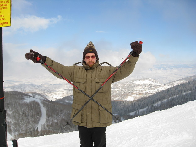 Chris at Park City