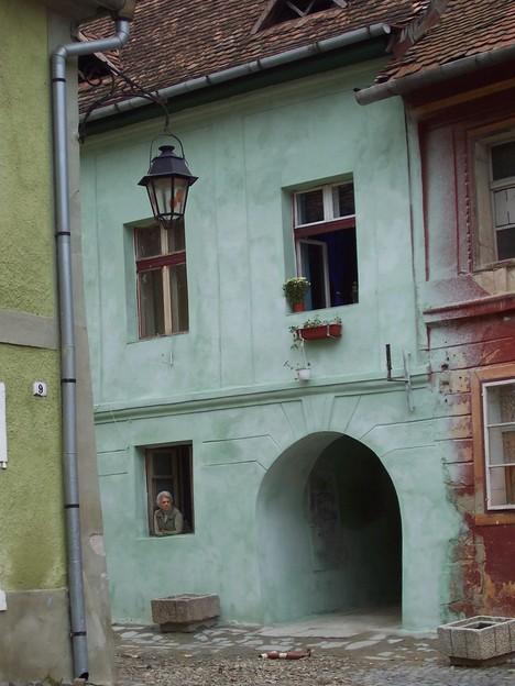 house in Sighisoara