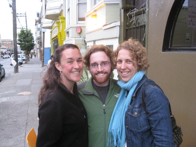 Rebecca, Pete, and Marcia in San Francisco