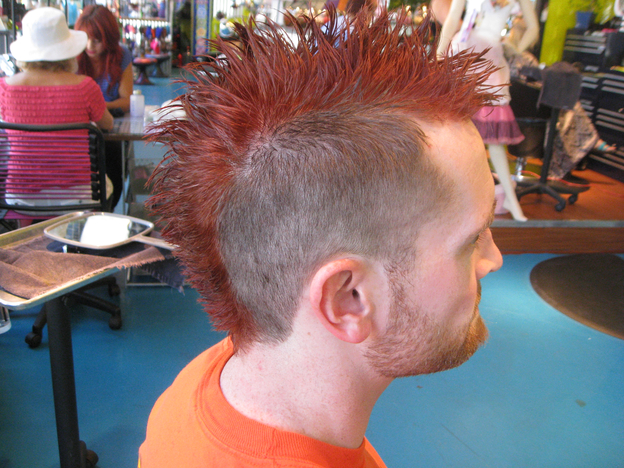 my new mohawk