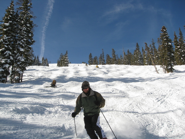 Skiing at Copper Mountain