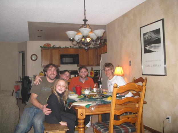 Dinner in the condo