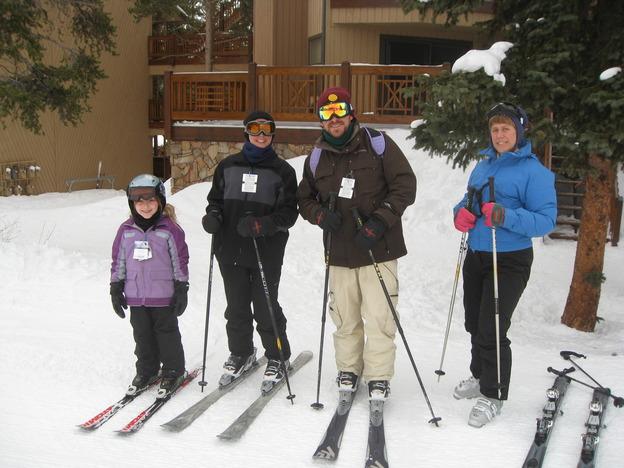 Our ski crew
